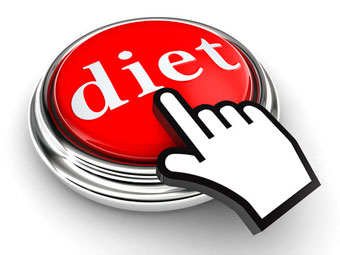 diet button