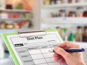 making a diet plan