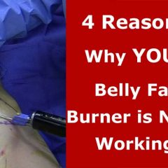 4 Reasons Why Your Belly Fat Burner is Not Working for You