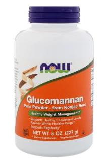 powdered glucomannan